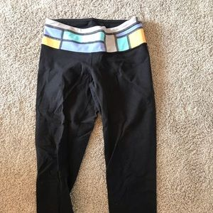 Lululemon Wunder Under Cropped